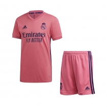 PACK JUNIOR REAL MADRID EXTERIEUR 2020-2021